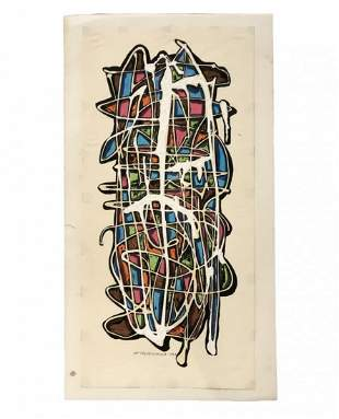 WILLIAM FREDERICKSEN (1914-2010, Norway) Abstract