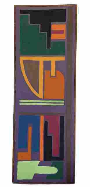 ELIZABETH BLUMENTHAL (1932-2019, American) Abstract