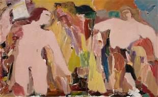 IRVING ARONOWITZ (20th c, American) Modernist