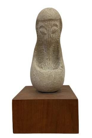 Mid-Century Modern Sculpture, Signed