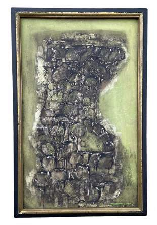 TAPIO KINNUNEN (b. 1934, Finland) Abstract