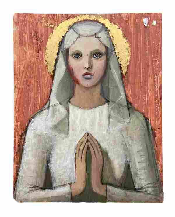 ELENA MARIA DE HELLEBRANTH (20th c, American) Mary