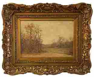 EDWARD LOYAL FIELD (1856-1914, American) Landscape