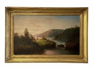 CHARLES LANMAN (1819-1895, American) Lake Toxaway