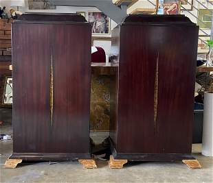 Pair Of Christopher Guy Cabinets
