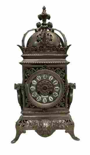 19th Century Gautier Paris Carriage Clock