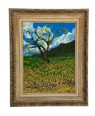 IDA WAHL ( 20th c, American) Landscape