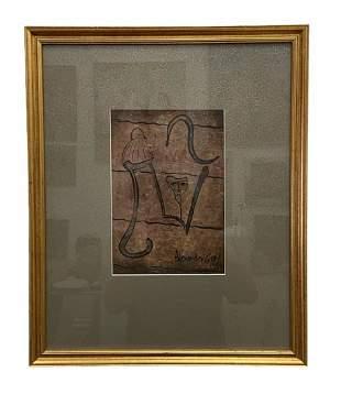 ALEXANDER GORE (b. 1958, Florida) Abstract