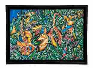 ALEXANDER MIJARES (20th c, Florida) Abstract