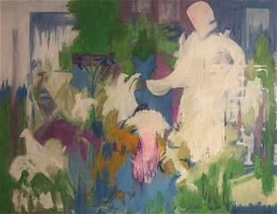 CHRISTINE OPOLOS (b 1923, Greek American) Abstract