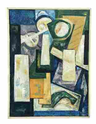CHRISTINE OPOLOS (b. 1923, Greek American) Abstract