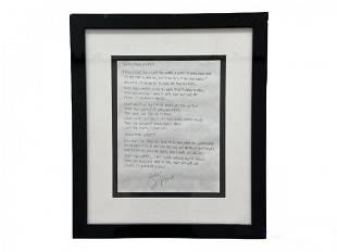 More Than Words Lyrics Signed Gary Cherone Of Extreme