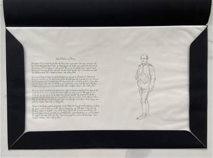 Bob Dylan Signed Mondo Scripto Lithograph