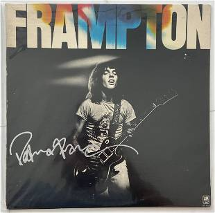 Peter Frampton Signed Record Album w/ COA