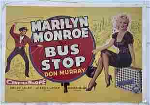 Marilyn Monroe, Bus Stop Movie Poster