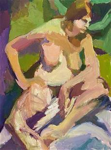 BARBARA YETERIAN (20th c, American) Nude