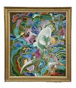 BERNARD SEJOURNE (1947-1992, Haiti) Modernist