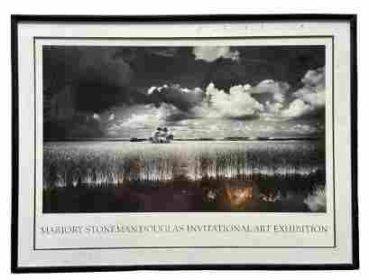 Clyde Butcher (20th c, Florida) Hand Signed Poster
