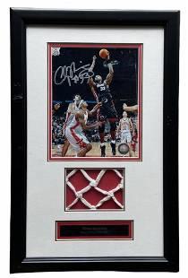 Miami Heat Signed Alonzo Morning Photo w/ Net