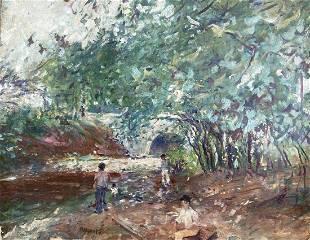 MORGAN HART (b 1899, New York) Central Park
