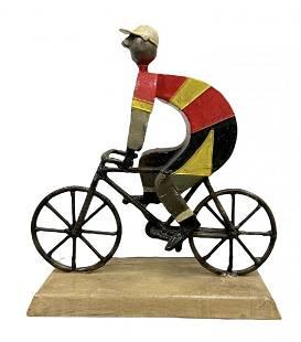 MANUEL FELGUEREZ (1928-2020, Mexico) Bicycle