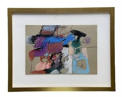 NANCY VANDENBERG LEE (20th c, American) Abstract