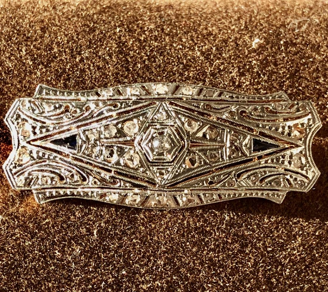 18K gold and platinum 0.75 TCW VS2-SI1, H diamonds
