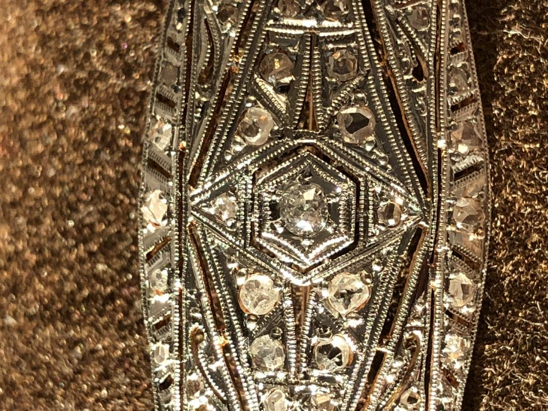 18K gold and platinum 0.75 TCW VS2-SI1, H diamonds - 2