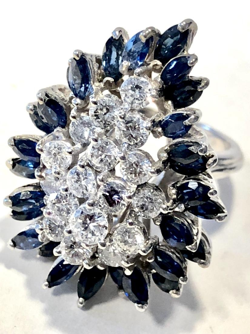 Stunning 14k gold 1.70 TCW VS2-SI1, G color diamonds