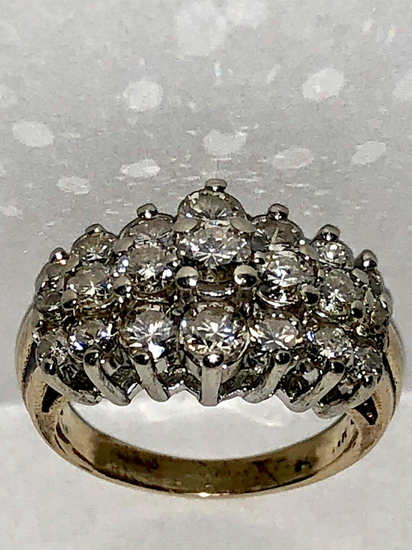 EXCEPTIONAL 14K GOLD 2.75 TCW SI1-SI2, H COLOR DIAMONDS
