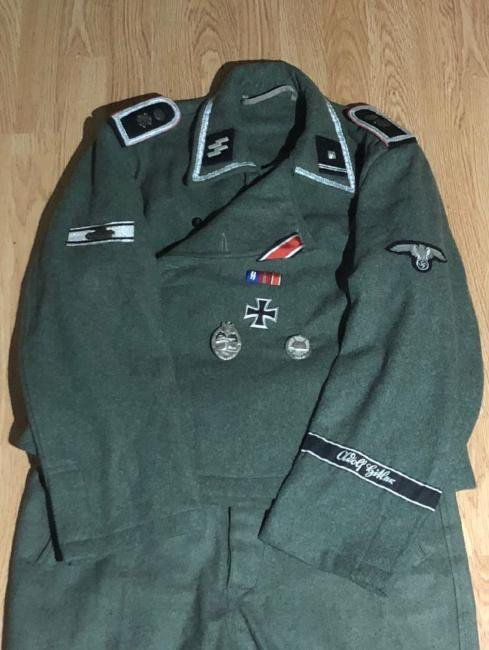 WW2 GERMAN SS OFFICER'S UNIFORM - 2
