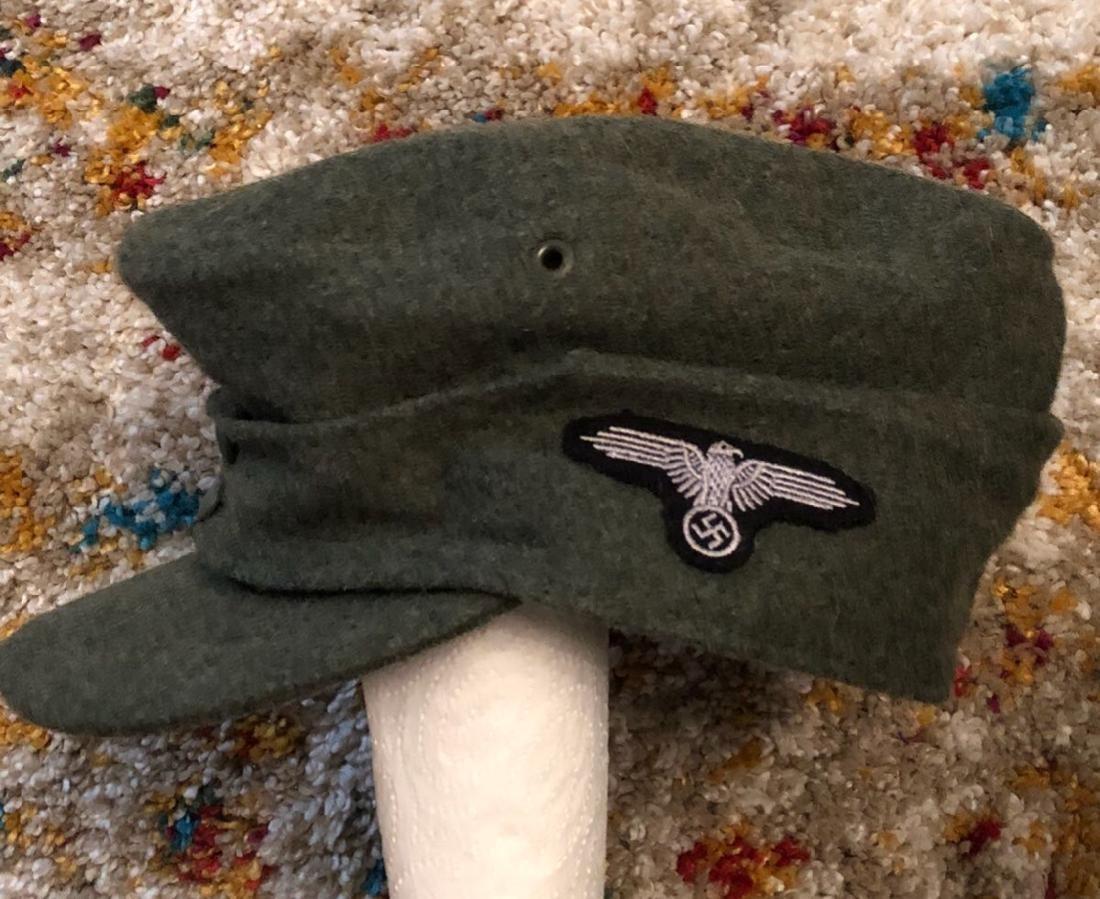 GERMAN WW2 SS TOTENKOMPF SKULL CAP - 2