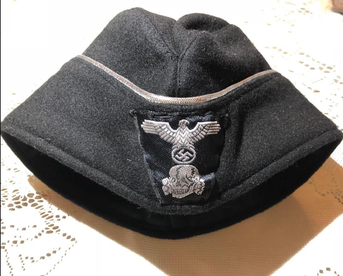 WW2 GERMAN NAZI SS OFFICER PANZER CAP