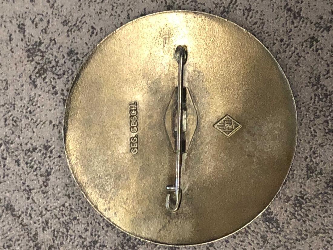 1936 BERLIN OLYMPICS KAMPFRICHTER (JUDGE) GREEN PIN - 2