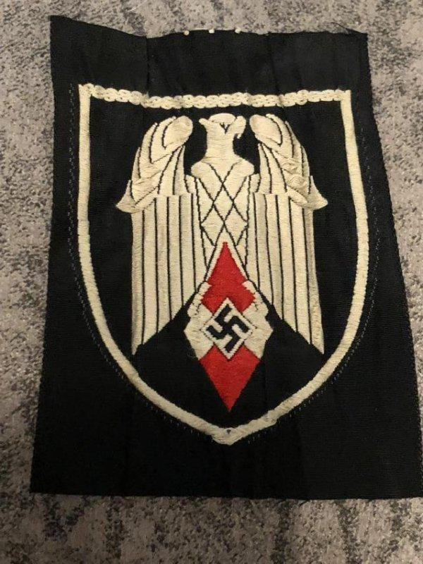 WW2 GERMAN NAZI SLEEVE PATCH