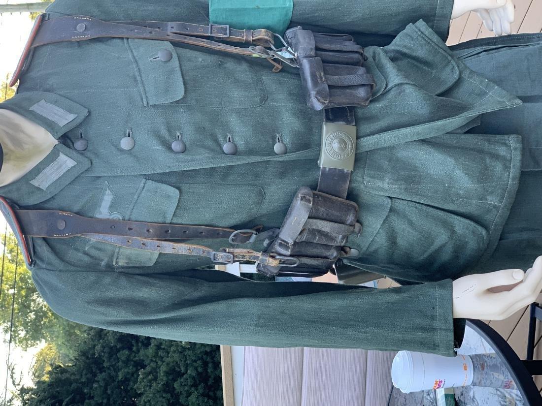 WW2 GERMAN ARMY ARTILLERY NCO COMPLETE UNIFORM - 5