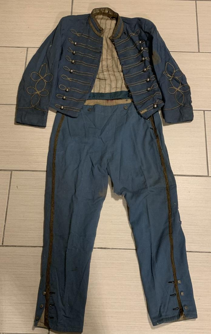ULTRA RARE CIVIL WAR DRUMMER BOY UNIFORM COMPLETE