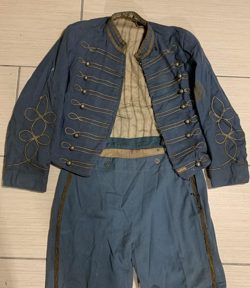 ULTRA RARE CIVIL WAR DRUMMER BOY UNIFORM COMPLETE - 2