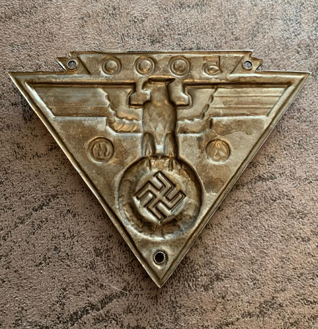 RARE WW2 NAZI WAFFEN SA WAFFEN SS 5000 MILE LICENSE - 3