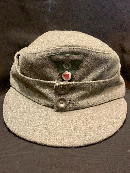 WW2 GERMAN NAZI FIELD OFFICERS ARMY CAP