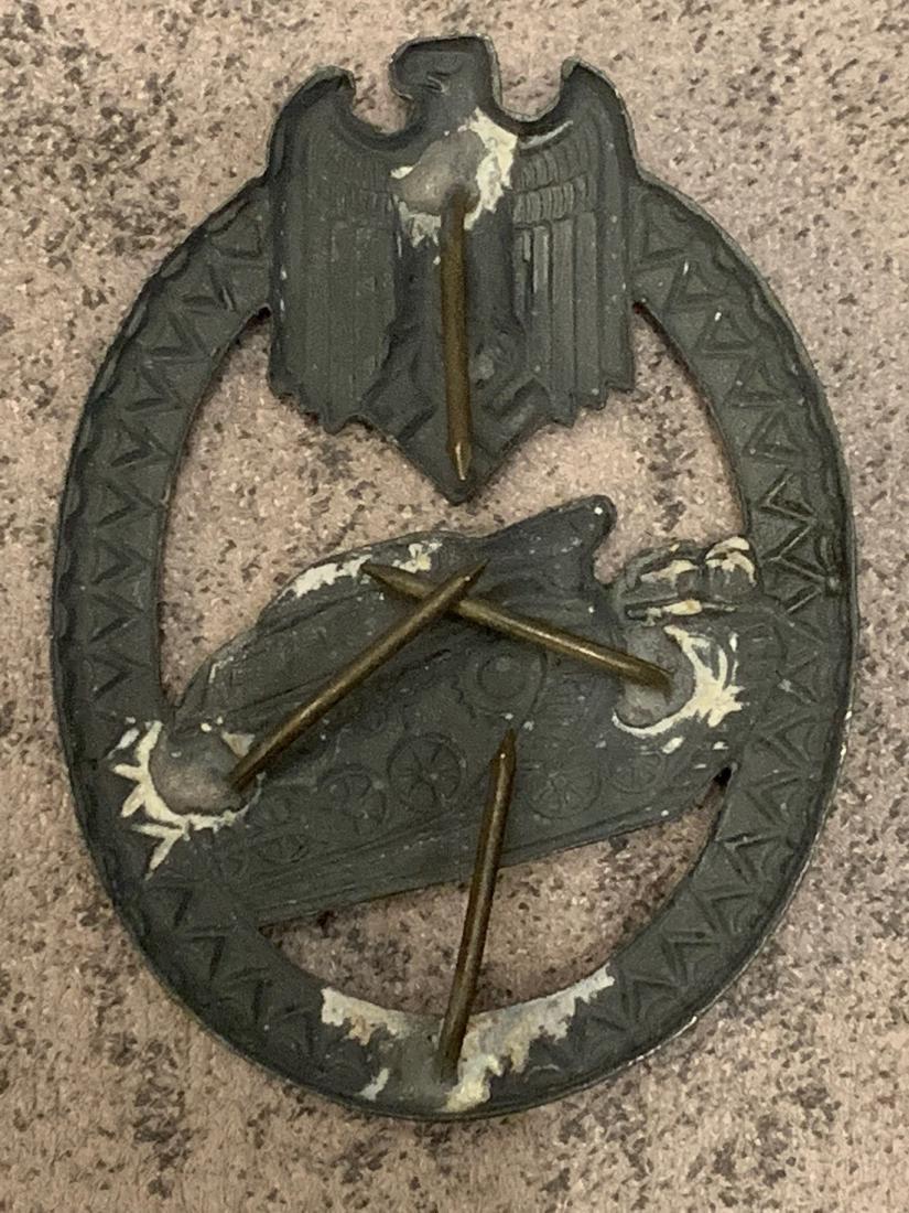 WW2 GERMAN WEHRMACHT PANZER MARKSMANSHIP BADGE - 2