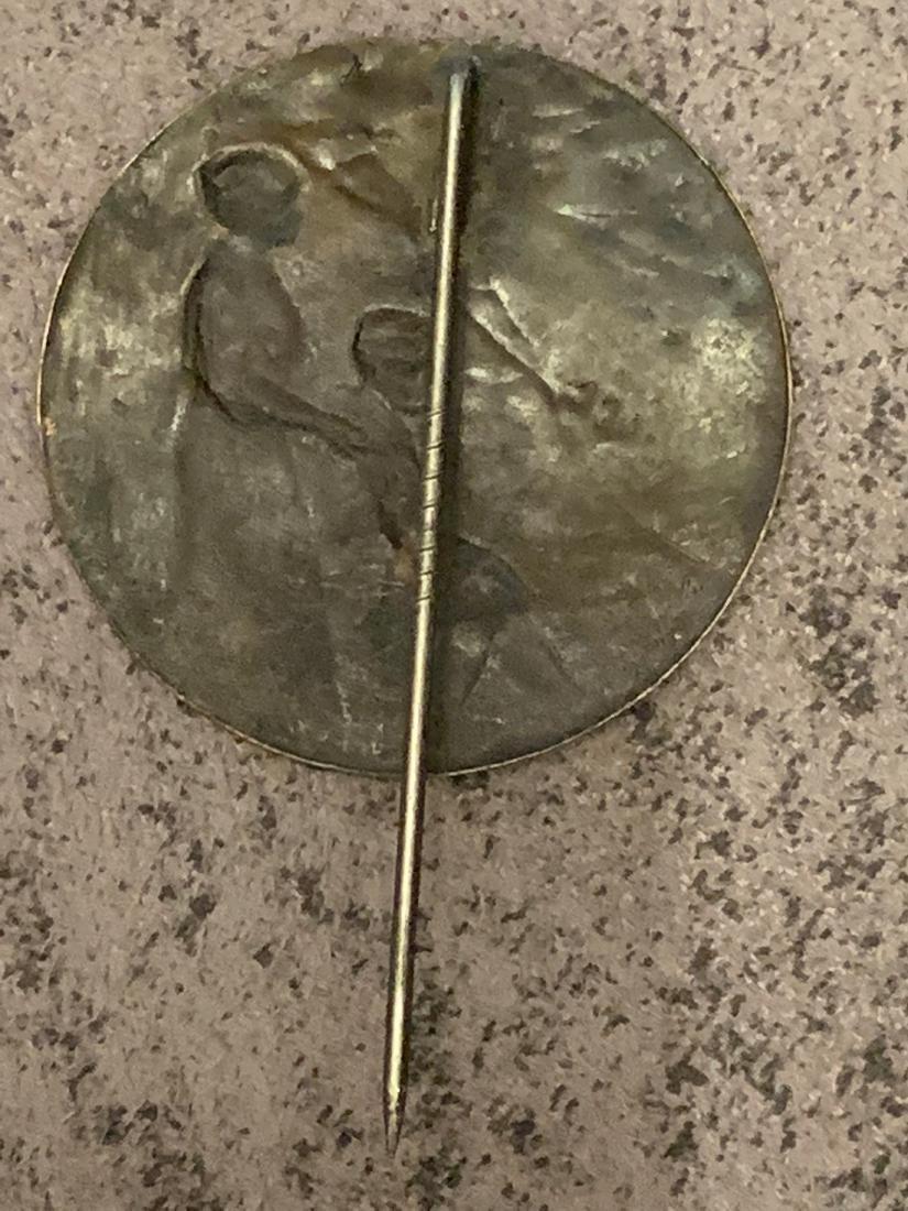 ANTIQUE WW2 GERMAN LABOR PIN - 3