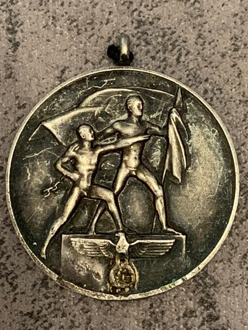 RARE WW2 1938 MARCH 13, COMMEMORATIVE MEDAL