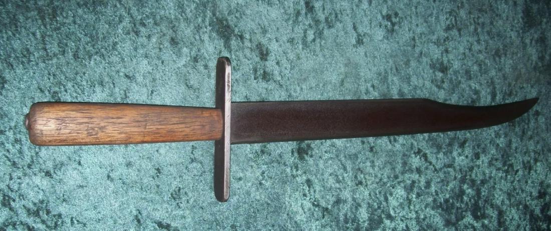 CIVIL WAR CONFEDRATE SOLDIERS CLIP POINT BOWIE KNIFE