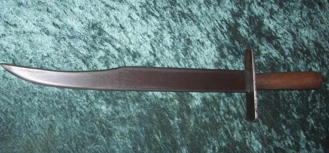 CIVIL WAR CONFEDRATE SOLDIERS CLIP POINT BOWIE KNIFE - 2
