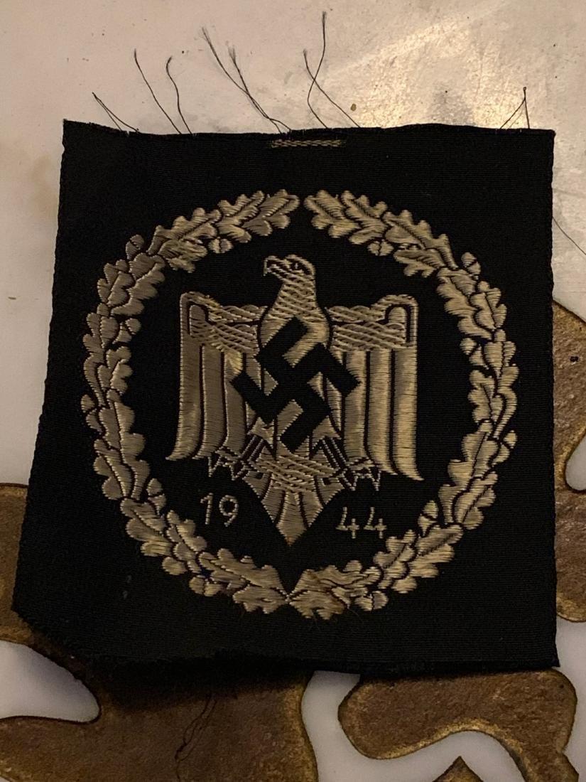 WW2 GERMAN NAZI 1944 SPORTS PATCH