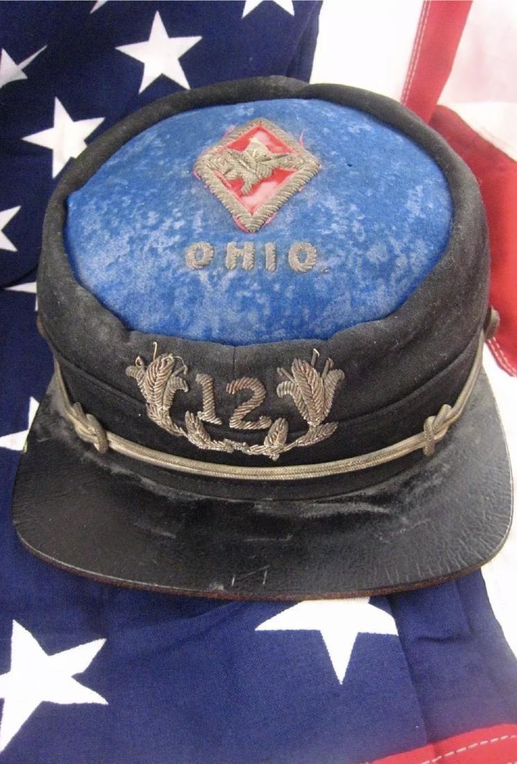 CIVIL WAR 1864 12TH OHIO CORPS KNIGHTS OF PYTHIAS KEPI