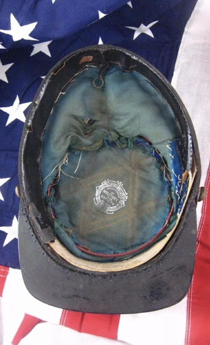 CIVIL WAR 1864 12TH OHIO CORPS KNIGHTS OF PYTHIAS KEPI - 4