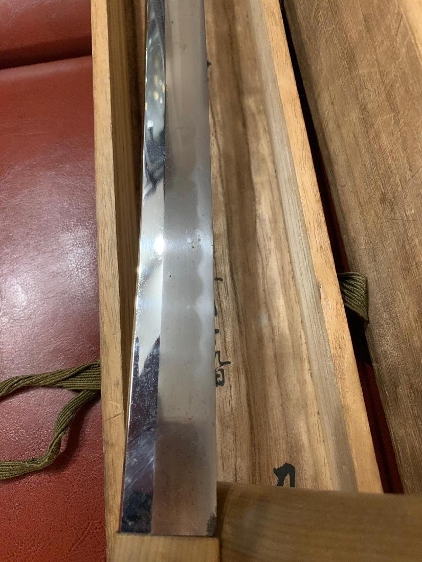 RARE WW2 JAPANESE SAMURAI KATANA PRESENTATION SWORD - 10