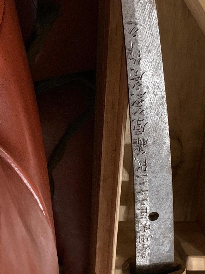 RARE WW2 JAPANESE SAMURAI KATANA PRESENTATION SWORD - 9